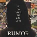 Rumor - Ti Ho Visto Ad Alta Voce cover