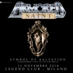 Armored Saint Legend Club 2018 special show Symbol of Salvation