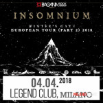 Insomnium+Tribulation@Legend Club (MI)
