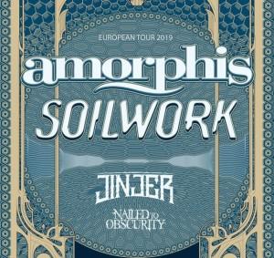Amorphis e Soilwork in tour insieme 2019