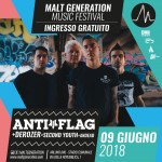 Malt Generation Music Festival 2018 anti-flag