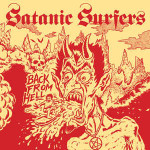 Satanic Surfers - Back From Hell copertina