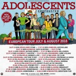 The Adolescents+Mucopus+Eversione+Back From The Grave@Caramagna Piemonte (CN) 2018
