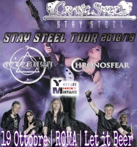 Crying Steel Aeternum, i Chronosfear e i Your Next Mistake