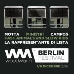 Woodworm Festival Berlino, 8 e 9 dicembre