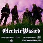 Electric Wizard 2018 lvie Italia