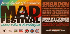 MAD - Music Against Discrimination a Lodi 2018