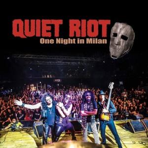 quiet riot One Night In Milan artwork